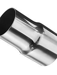 Недорогие -1 шт. 60/51 mm Автомобильные выхлопные системы выпрямленный Нержавеющая сталь Глушители выхлопа Назначение Универсальный Все модели Все года