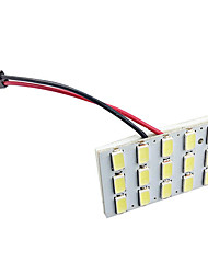 cheap -5630 24SMD Car White LED Interior Dome Reading Trunk Panel Light Bulb