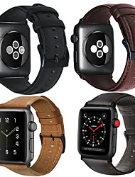 cheap -Watch Band for Apple Watch Series 5/4/3/2/1 Apple Leather Loop Genuine Leather Band Wrist Strap