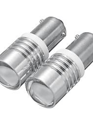 cheap -2pcs 12V 6000K BAX9S 150 Car LED White Side Marker Light Bulb Reversing Lamp Bulb