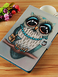 cheap -Case For Apple iPad Mini 5 / iPad New Air(2019) / iPad Air Wallet / Card Holder / with Stand Full Body Cases Owl Hard PU Leather / iPad Pro 10.5 / iPad (2017)