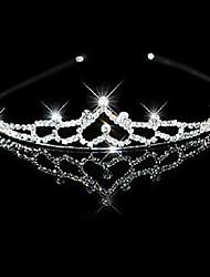 cheap -Alloy Headbands with Crystal / Rhinestone 1 Piece Wedding / Birthday Headpiece