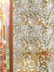 cheap -Window Film & Stickers Decoration Matte / Contemporary Geometric PVC(PolyVinyl Chloride) Window Sticker / Matte