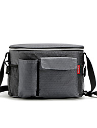 cheap -Camping Cooler 8 L Hiking Backpack Hiking Sling Backpack Lightweight Rain Waterproof Wearable Cloth for Outdoor Hiking Camping Grey