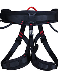 cheap -seat belt Climbing Harness Outdoor Protection Poly / Cotton Blend Climbing Outdoor Exercise Black 1 pcs