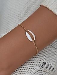 abordables -Bracelet à maillons fait main Femme Tropical Bracelet Bijoux Dorée pour Anniversaire Fiançailles Sortie Bikini Festival
