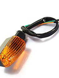Недорогие -2pcs Проводное подключение Мотоцикл Лампы 3 W Лампа поворотного сигнала Назначение Все года
