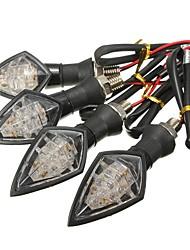Недорогие -4шт Проводное подключение Мотоцикл Лампы 10 Светодиодная лампа Лампа поворотного сигнала Назначение Volkswagen / Toyota / Suzuki Все года
