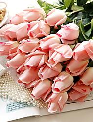 Недорогие -Искусственные цветы Пластик европейский Букет Букеты на стол Букет 5