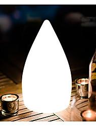 Недорогие -RGB светодиодная настольная лампа 16-цветный свет новизна капли воды светодиодный стол ночное освещение с 24 ключа дистанционного управления рождественский подарок