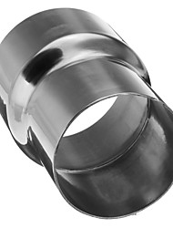 Недорогие -1 шт. 63.5-76.5 mm Автомобильные выхлопные системы выпрямленный Нержавеющая сталь Глушители выхлопа Назначение Универсальный Все модели Все года