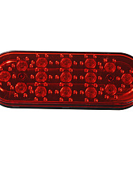 cheap -15 LED Car Rear Strobe Tail Brake DRL Stop Light Fog Flashing Lamp