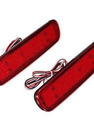 Недорогие -Пара светодиодных тормозных задних фонарей задний бампер отражатель противотуманных фар для Toyota Land Cruiser Lexus LX470