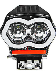 cheap -20W 12/80V IP68 2000LM LED Motorcycle Angel Eyes USB Headlight Spotlight