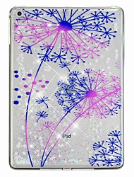 cheap -Case For Apple iPad Air / iPad (2018) / iPad Air 2 Flowing Liquid / Pattern Back Cover Glitter Shine / Dandelion Hard PC / iPad (2017)