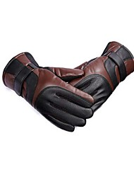 cheap -Full Finger Men's / Women's Motorcycle Gloves Leather Warm / Non Slip