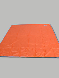 cheap -Picnic Blanket Tent Tarps Outdoor Camping Lightweight Fast Dry Moistureproof Oxford Cloth Beach Camping / Hiking / Caving Picnic for 2 person All Seasons Orange Blue Grey / Double Size