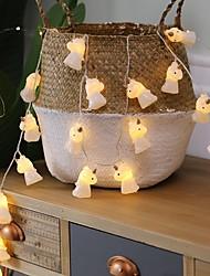 cheap -1.5m Creative Unicorn String Lights 10 LEDs Warm White Home Bedroom Decorative AA Batteries Powered 1 set