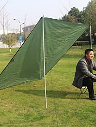 cheap -AOTU Picnic Pad Tent Tarps Outdoor Multifunctional Portable Ultra Light (UL) Wearproof Oxford Cloth Camping / Hiking Climbing Camping / Hiking / Caving All Seasons Army Green Green Blue