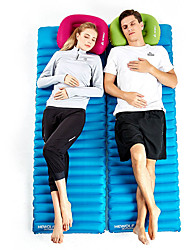 cheap -Hewolf Inflatable Sleeping Pad Air Pad Outdoor Portable Rain Waterproof Moistureproof Ultra Light (UL) TPU PE Nylon 180*60 cm Camping / Hiking Camping Camping / Hiking / Caving All Seasons Green Blue