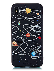 cheap -Case For Apple iPhone XS / iPhone XR / iPhone XS Max Pattern Back Cover 3D Cartoon Soft TPU