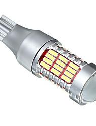 Недорогие -1 шт. T15 Автомобиль Лампы 30 W SMD 4014 800 lm 60 Светодиодная лампа Фонари заднего хода (резервные) Назначение Все года