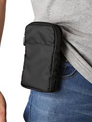cheap -6 / 6.9 inch Case For Universal Card Holder Waist Bag / Waistpack Solid Colored Nylon Bag Unisex