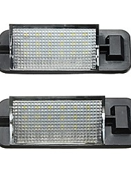 cheap -2x 12V 18LEDs License Number Plate Light Lamps for BMW 3 Series E36