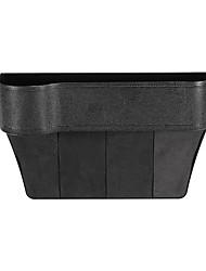 cheap -ABS Left Side Car Seat Crevice Gap Storage Box Drink Holder Pocket Coin Organizer