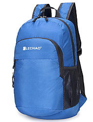 cheap -30 L Hiking Backpack Lightweight Packable Backpack Breathable Rain Waterproof Ultra Light (UL) Compact Outdoor Hiking Camping Team Sports Nylon Red Blue Grey / Yes / Wear Resistance