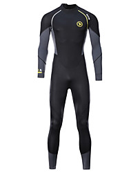 cheap -ZCCO Men's Full Wetsuit 1.5mm SCR Neoprene Diving Suit Thermal / Warm High Elasticity Back Zip - Diving Water Sports Fashion Camo / Camouflage Autumn / Fall Spring Summer