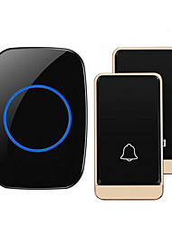 cheap -Wireless Two to One Doorbell Music / Ding dong Non-visual doorbell Surface Mounted