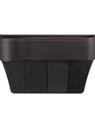 cheap -PU Leather Left Side Car Seat Crevice Gap Storage Box Pocket Organizer Phone Holder