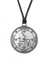 cheap -Thor Pirate Viking Pendant Necklace Amulet Halloween New Year's Alloy For Christmas Halloween Masquerade Men's Women's Costume Jewelry Fashion Jewelry / 1 Necklace