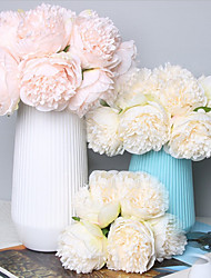 cheap -Artificial Flower Plastic Wedding Flowers Bouquet Tabletop Flower Bouquet 5