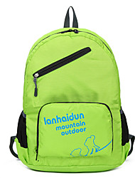 cheap -35 L Hiking Backpack Lightweight Packable Backpack Lightweight Fast Dry Ultra Light (UL) Compact Outdoor Hiking Camping Team Sports Nylon Fuchsia Green Blue / Wear Resistance