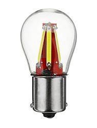 Недорогие -1 шт. BA15S (1156) Автомобиль Лампы COB 4 Светодиодная лампа Фары дневного света / Лампа поворотного сигнала / Тормозные огни Назначение Универсальный Все года