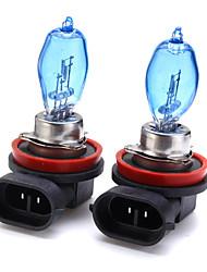 cheap -2pcs H11 Car Light Bulbs 100 W 1 Halogen Fog Lights For universal / Toyota / Honda All years