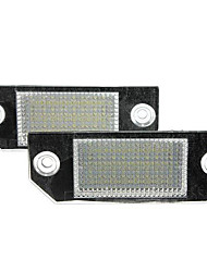 cheap -2x 24LEDs License Number Plate Light Lamps for Ford Focus C-MAX 03-07