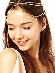 cheap -American Indian Headpiece Adults' Bohemian Style Women's Golden Alloy Party Cosplay Accessories Halloween / Carnival / Masquerade Costumes / Female