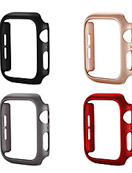 cheap -Case For Apple Apple Watch Series 4 / Apple Watch Series 4/3/2/1 / Apple Watch Series 3 Plastic Apple