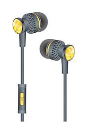 abordables -LITBest WP09 Eeadphone filaire intra-auriculaire Câblé Non Sports & Activités d'Extérieur Cool Stereo Avec Microphone Confortable Téléphone portable