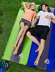 cheap -Hewolf Self-Inflating Sleeping Pad Air Pad Outdoor Portable Rain Waterproof Moistureproof Pongee 188*65*3 cm Camping / Hiking Camping Camping / Hiking / Caving All Seasons Jacinth +Gray Bule / Black