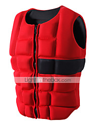 cheap -Life Jacket Sailing Professional Flexible Nylon SBR EPE Foam Surfing Kayaking Water Sports Life Jacket for Adults