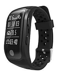 cheap -S908 Men Smart Bracelet Smartwatch Android iOS Bluetooth GPS Smart Sports Waterproof Heart Rate Monitor Stopwatch Pedometer Call Reminder Activity Tracker Sleep Tracker / Gravity Sensor