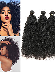 cheap -3 Bundles Brazilian Hair Jerry Curl Remy Human Hair Human Hair Extensions 8-22 inch Human Hair Weaves Soft Best Quality New Arrival Human Hair Extensions