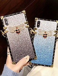 cheap -Case For Apple iPhone XS / iPhone XR / iPhone XS Max Shockproof / Glitter Shine Back Cover Glitter Shine Soft TPU
