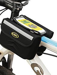 cheap -B-SOUL 1 L Cell Phone Bag Bike Frame Bag Touch Screen Portable Wearable Bike Bag Terylene Bicycle Bag Cycle Bag Cycling / iPhone X / iPhone XR Outdoor Exercise Bike / Bicycle