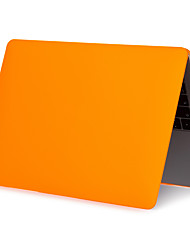 cheap -MacBook Case Solid Colored Plastic for Macbook Air 11-inch / MacBook 12''
