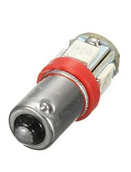 cheap -Car 12V 5 SMD LED Ba9s T4W W5W T10 Indicator Light Bulb Lamp 5 Color